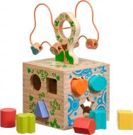Сортер Іграшки з дерева Логический кубик Д014