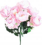 Букет роз пионов искусственных 7593 Цветы от королевы