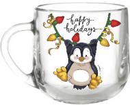 Чашка Christmas Penguin 300 мл Galleryglass