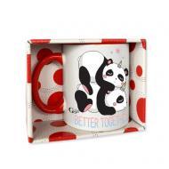 Чашка Panda better together 320 мл GGP