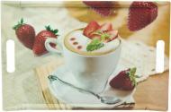 Таця Кава з фруктами 31x47 см 68018-F