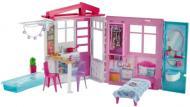 Домик для кукол Barbie портативный раскладной FXG54