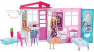 Игровой домик Barbie портативный раскладной с куклой FXG55