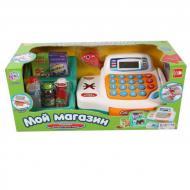 Игровой кассовый аппарат Play Smart 7254 с корзиной продуктов
