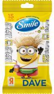 Вологі серветки Smile Minions Bob з єврослотом 15 шт.