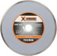 Диск алмазний відрізний X-Treme 1A1R  200x2,5x22,2 кераміка XT-110124