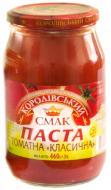 Паста томатна Королівський смак Класична (пастеризована) 25% 460 г
