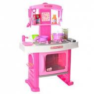 Детская игрушечная кухня Joy Toy 661-51 розовый