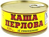 Консерва Онисс Каша перловая со свининой 325 г