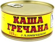 Консерва Онисс Каша гречневая с говядиной 325 г