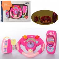Детский автотренажер, телефон A-Toys K999-81B/G розовый
