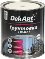 Грунт DekArt ГФ-021 серый мат 2,8кг