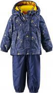 Комплект (куртка + брюки на підтяжках) Reima Bjorn 513101R-6987 92 см темно-синій (6416134547160)