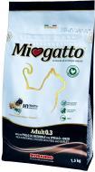 Корм Miogatto Adult 0.3 з натуральною куркою, телятиною та ячменем 1,5 кг