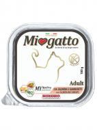 Корм Morando MioGatto Adult для дорослих котів, з лососем і креветками 100 г