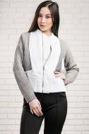 Куртка Nothing but Love р. S білий із сірим 88627