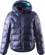 Куртка-пуховик для хлопчиків Reima 531223-6980 128 см темно-синій (6416134471168)