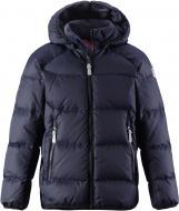 Куртка-пуховик дитяча Reima 531236-6980 122 см темно-синій (6416134476170)