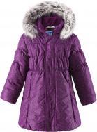 Пальто детское Lassie 721698-4981 116 см темно-фіолетовий (6416134498530) р. 116 темно-фіолетовий