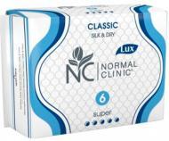 Прокладки гігієнічні Normal Clinic Classic Silk&Dry super 6 шт.
