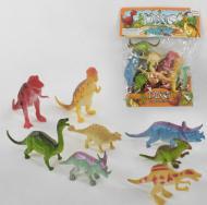 Набор динозавров в пакете 8 шт Shantou (мЗві3434)