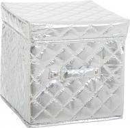 Короб для зберігання сріблястий 200x200x200 мм