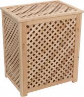 Ящик дерев'яний для білизни LB2 решітчастий 600x350x500 мм