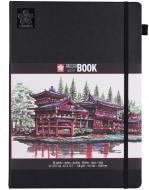 Блокнот для ескізів Sketch 21х29,7 см 80 л кремово-білий Sakura