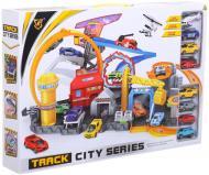 Ігровий набір Peng Rong гараж-трек 7 машинок P884-A