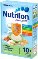 Каша молочная Nutrilon от 10 месяцев 4 злака с рисовыми шариками 225 г
