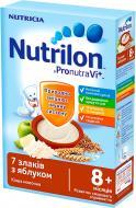 Каша молочная Nutrilon 7 злаков с яблоком 5900852025303 225 г