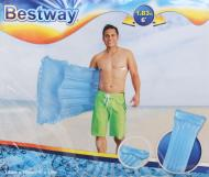 Матрас надувной Bestway 183х76 см прозрачный верх синий
