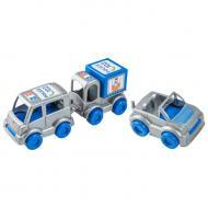 Набор машинок Kid cars Полиция Wader (39548)