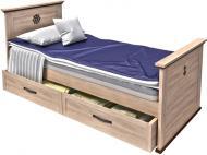 Ліжко Aqua Rodos Skipper SkBed-90 90x200 см дуб небраска