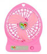 Вентилятор настольный Dellta DR-1501 с аккумулятором Pink (hub_np2_1388_3)