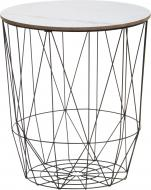 Стол-корзина Мрамор 47,5х42 см
