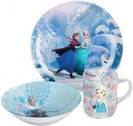 Набір дитячого посуду Luminarc Disney Frozen 3 предмети L8224