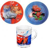 Набір дитячого посуду Luminarc Disney Cars 3 предмети L2128