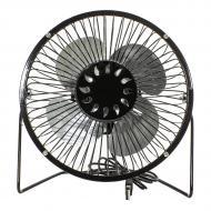Настольный мини-вентилятор Fan Mini Sanhuai A816 Black USB (3364-9870а)