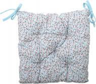 Подушка на стілець Квіти Тіффані 40x40 см Прованс Классик