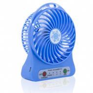 Портативный вентилятор Mini Fan 2E Portable с аккумулятором USB Синий (342u)