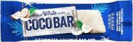 Батончик Coco Bar Вітамінізований кокосовий у білій кондитерській глазурі 40 г