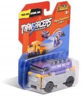 Машинка 2-в-1 Туристический & Школьный автобус TransRacers (6523174)