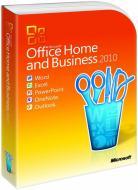 Програмне забеспечення Microsoft Office Home and Business 2010 32-bit/x64 Russian DVD BOX (T5D-00412)