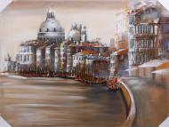 Картина 3D Венеция 90x120 см