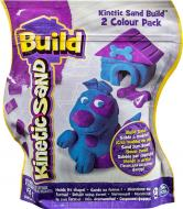 Пісок для дитячої творчості Wacky-Tivities Kinetic Sand Build блакитний фіолетовий 71428BP