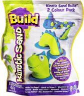 Пісок для дитячої творчості Wacky-Tivities Kinetic Sand Build зелений блакитний 71428GrB