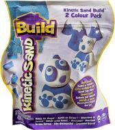 Пісок для дитячої творчості Wacky-Tivities Kinetic Sand Build білий блакитний 71428WB