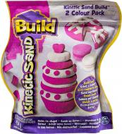 Пісок для дитячої творчості Wacky-Tivities Kinetic Sand Build білий рожевий 71428WPn