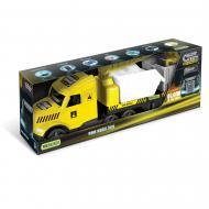 Вантажівка Wader Magic Truck Technic з будівельними контейнерами 36470